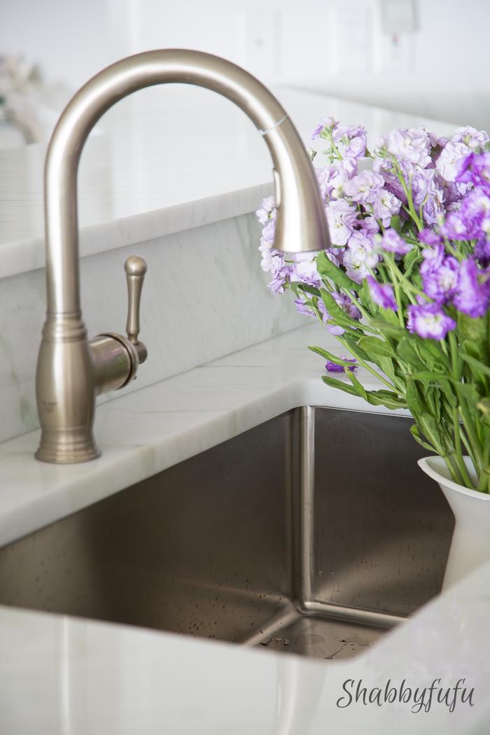 HansGrohe kitchen faucet Shabbyfufublog