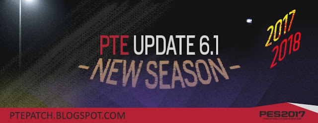 Option file Update for PTE Patch 6.1 PES 2017