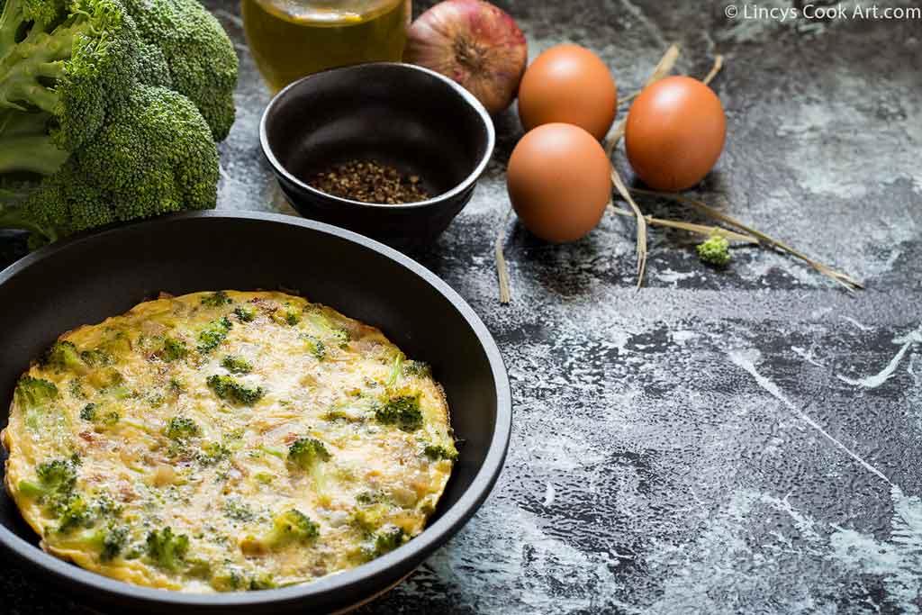 easy broccoli omelette recipe