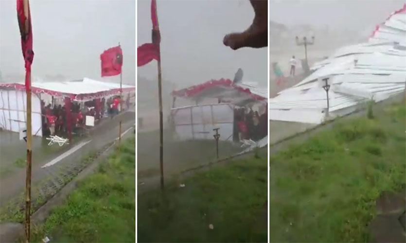 Acara PDIP porak poranda dihantam badai