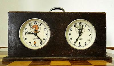 I Torneo Nacional de Ajedrez de Lérida 1948, reloj de control
