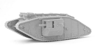 British Mark IV Male Tank