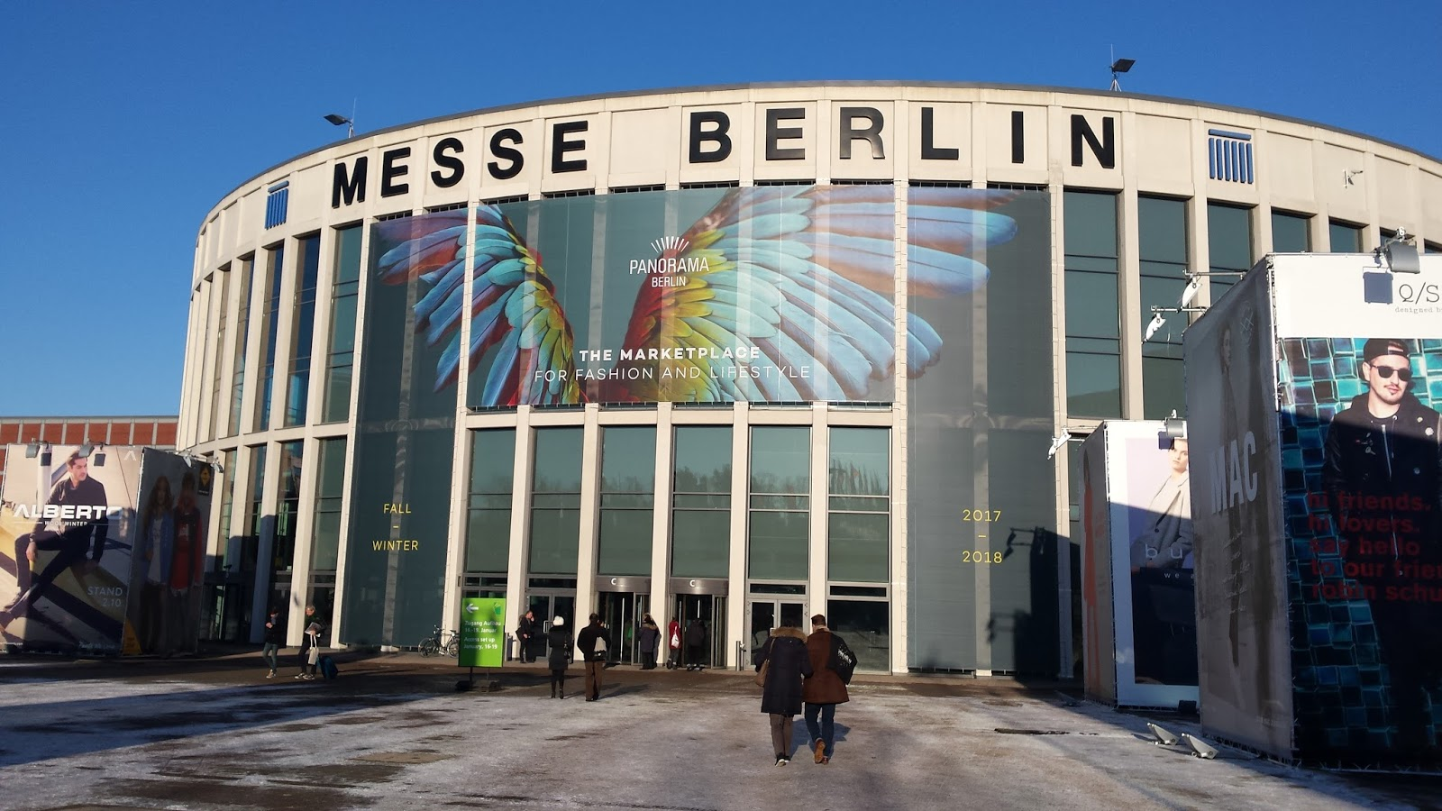 Messe Berlin, Showroom Panorama Berlin 2017, Berlin Fashion Week