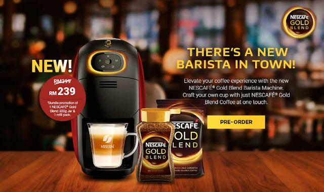 Nescafe Gold Blend, Nescafe Barista,