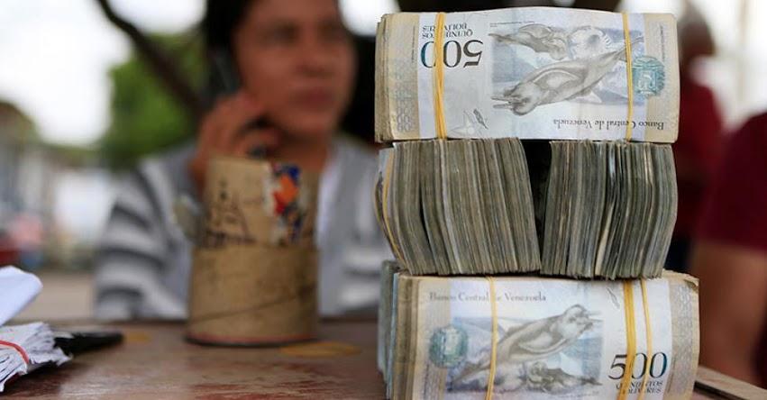 Venezuela anuncia reconversión monetaria y presenta nuevos billetes con tres ceros menos