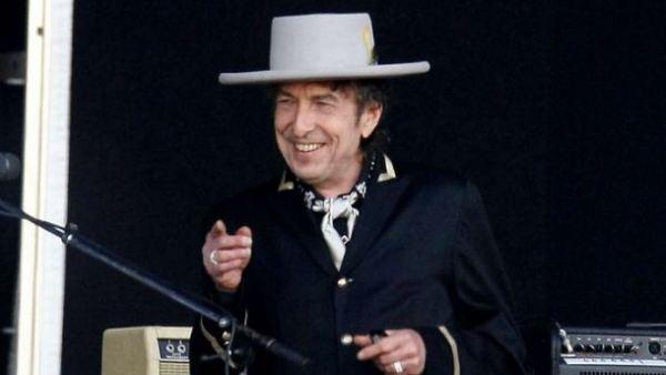 El artista Bob Dylan durante su concierto en Rock in Rio 2008 (Madrid)