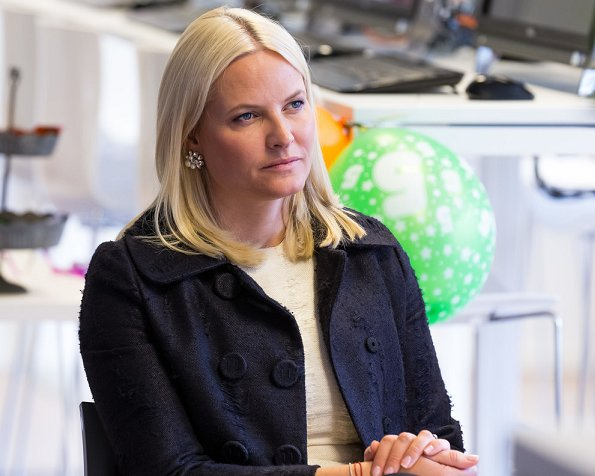 Crown Princess Mette Marit visited Stella Red Cross Centre and attended the events of 5th anniversary of establishment of Stella Red Cross Women's Centre