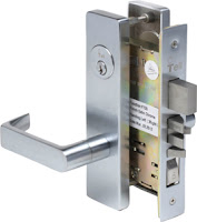 Locksmith Portland commercial Mortise lock