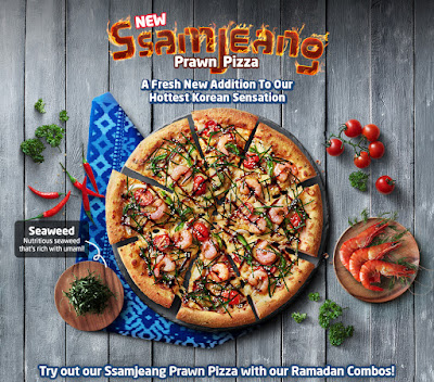 samjeang pizza, new pizza, domino's pizza, nearest pizza hut, nearest domino's pizza, korean lover, pizza lover, homemade pizza, prawn pizza, pizza recipes, seaweed usage. seaweed recipes, italian herbs, tuna, chicken, beef pizza, ssamjeang pizza. raya mood, festive, malaysian festive,