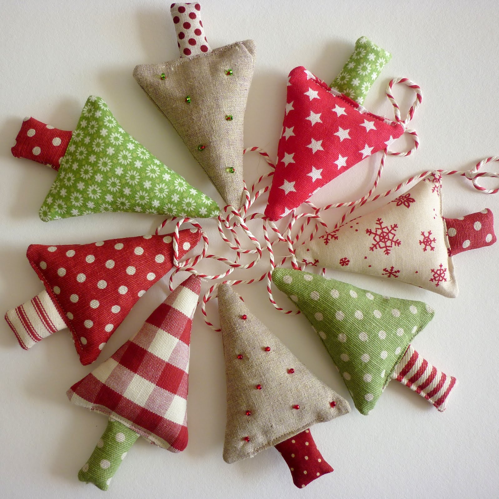Handmade Christmas Decorations To Make: Sixty One A: Kirstie And Kirsty Sitting In A Tree