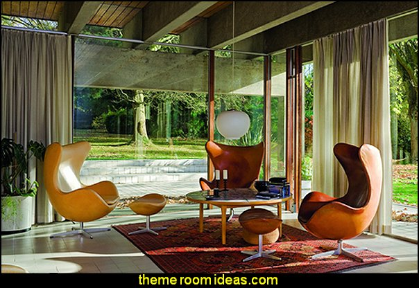 Mid Century Modern Scandinavian Designers  Retro mod style decorating ideas - mid century mod style decorating ideas - mid century furniture - Modern Retro eclectic decorating ideas - retro decor - funky modern decorating - 50s, 60s, 70s - Mid century Interiors - retro mod style nursery - mid century modern bedroom
