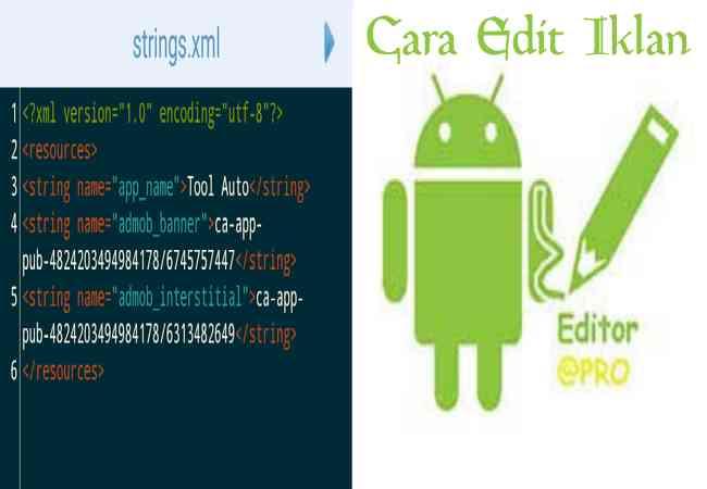 Cara Mudah Edit / Menghapus Iklan di Aplikasi Android Dengan Apk Editor (Root Only) Terbaru