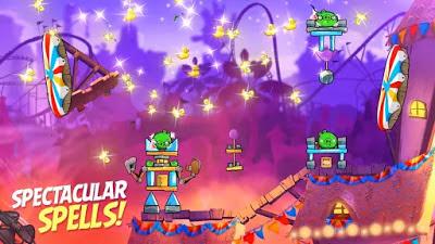 لعبة الطيور الغاضبة Angry Birds 2 مهكرة للأندرويد (اخر اصدار)