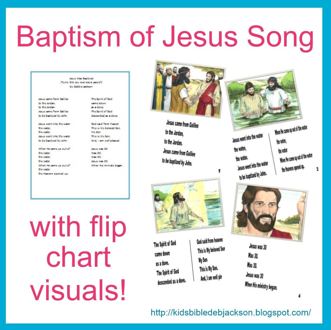 Bible Fun For Kids 4 5 Jesus Is Baptized