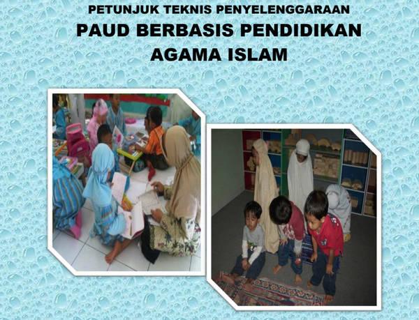 Juknis PAUD Berbasis Pendidikan Agama Islam