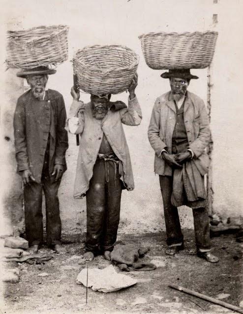 a humilhação de ser escravizado