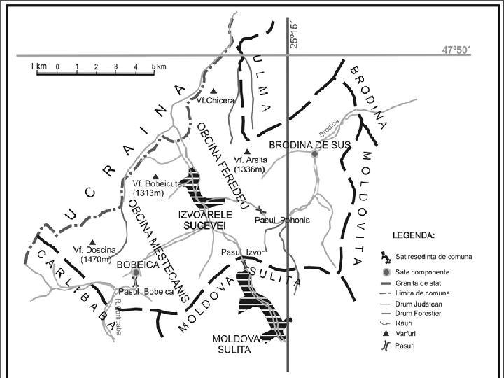 Izvoarele Sucevei Bucovina Asezare