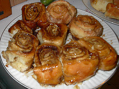 Cinnamon rolls receita