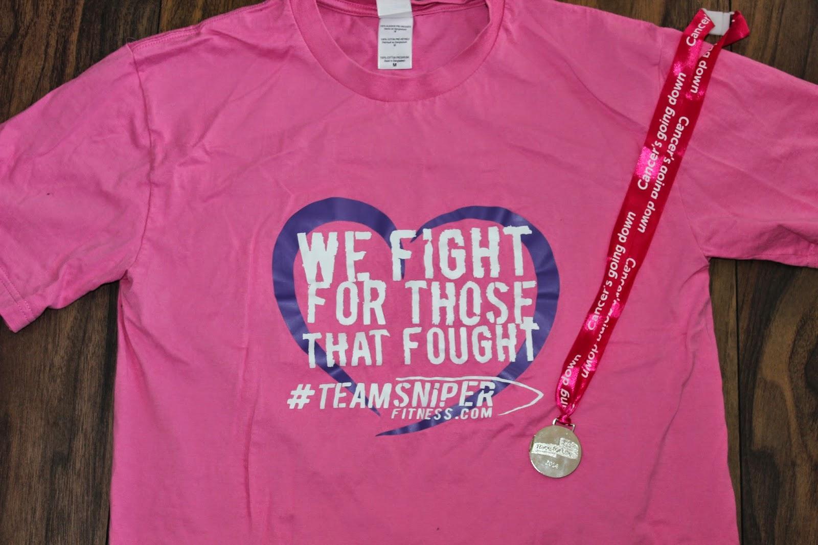 team sniper race for life 2014