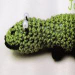 patron gratis lagarto amigurumi | free amigurumi pattern lizard