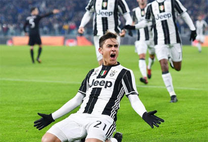 Juventus, bidding for a record sixth consecutive Serie A title