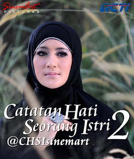 Biodata Lengkap Pemeran Utama Sinetron Catatan Hati Seorang Istri Season 2 RCTI