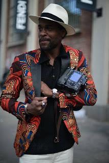 man fashion ankara jacket