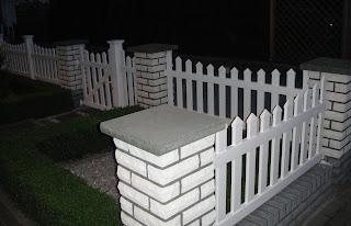 nowoczesne ogrodzenia PCV