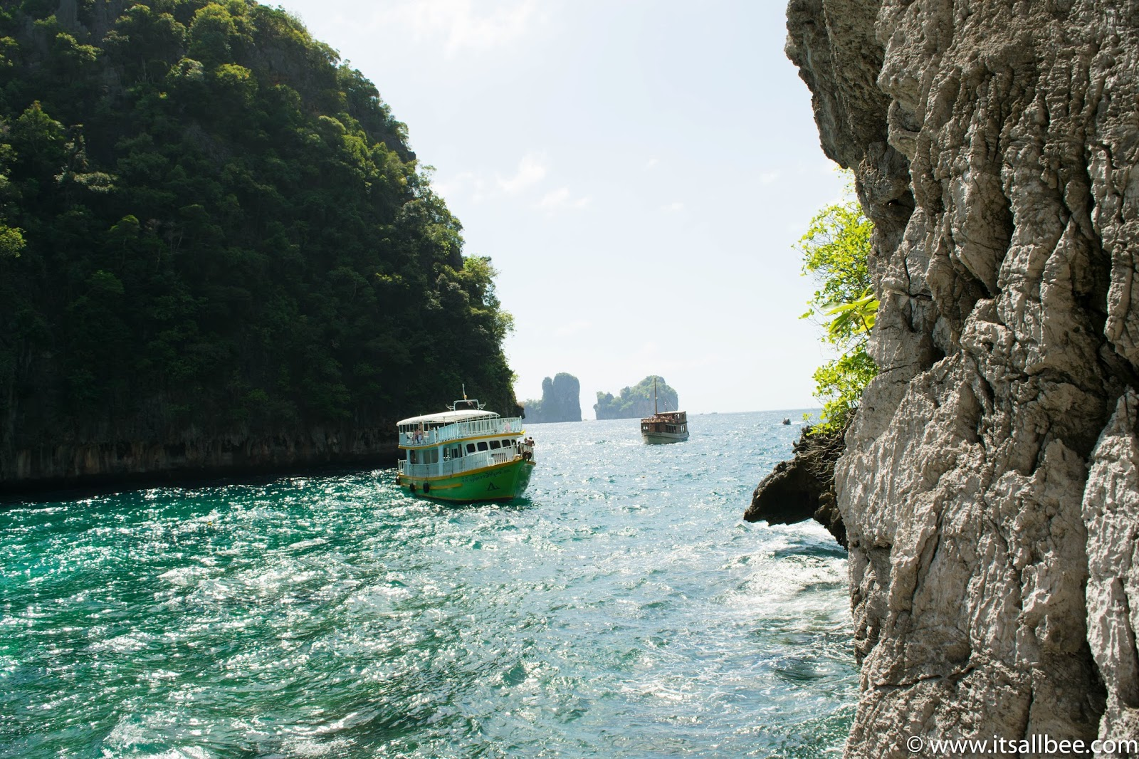 Phi Phi Island Tour | Exploring Loh Samah Bay And Maya Bay
