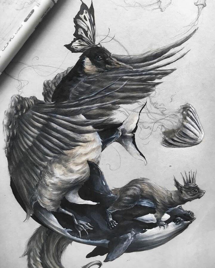 06-Goose-Squirrel-Butterfly-SW-Whiteside-www-designstack-co