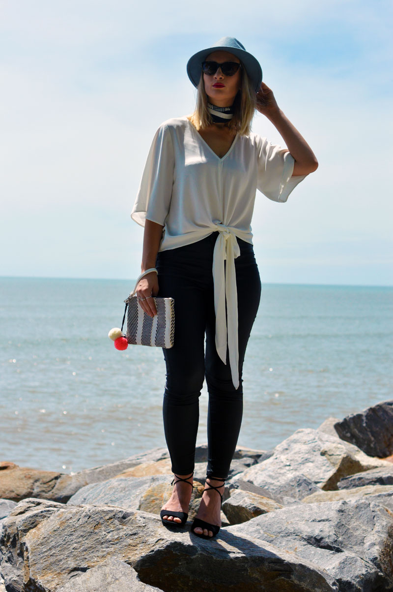 personal style tips monochrome transitional outfit