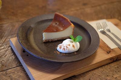 東京・手紙舎つつじヶ丘本店 チーズケーキ