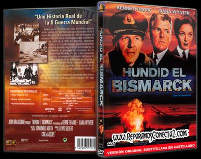 Hundid el Bismarck [1960] Descargar cine clasico - Carátula, cover, dvd