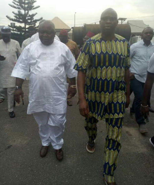 Fayose Regains Freedom From EFCC (Photos)