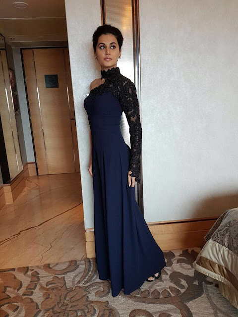 tapsee latest photos +Tapsee at blue dress + tapsee in westeren wear