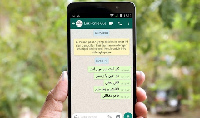 Cara Buat Tulisan Arab di WA (WhatsApp) Android