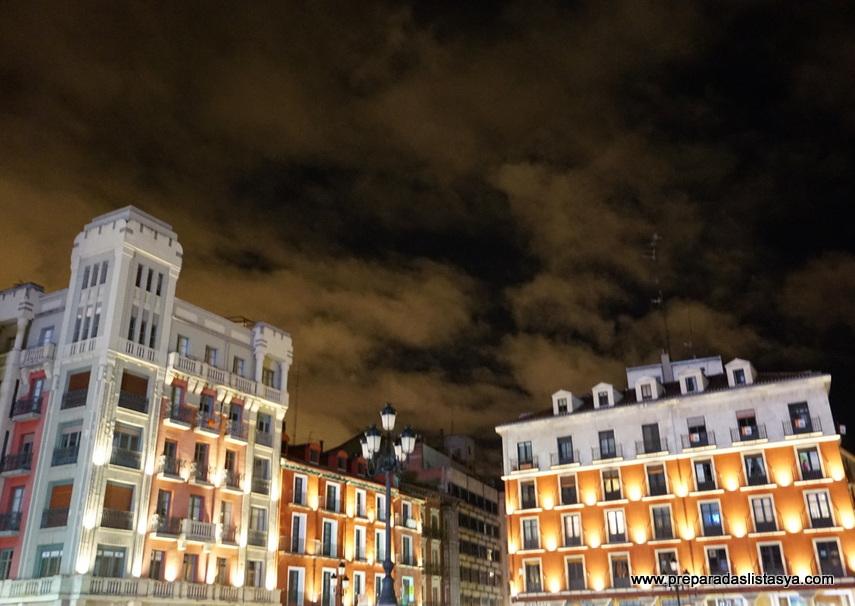 Plaza mayor de valladolid noche