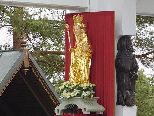 Figura Matki Boskiej Ludźmierskiej.