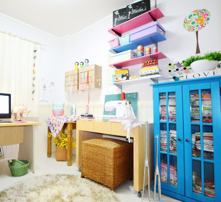atelier de costura home office