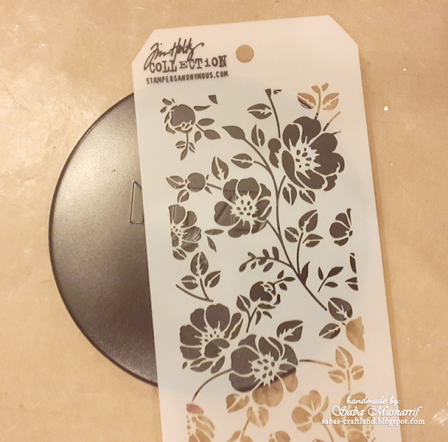 Stampers Anonymous Stencil Floral 2017 release