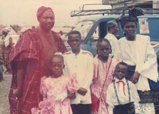 Governor Akeredolu wedding anniversary with throwback pictures