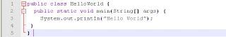 belajar dasar pemograman java, java programing, java, program