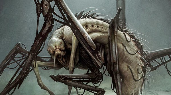 Here's What the Grievers Almost Looked Like in THE MAZE ... The Maze Runner Movie Beetle Blade
