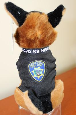 Santa Cruz Police 10 Donation Gets This Cute Cuddly K 9