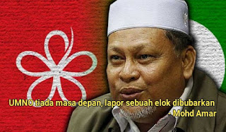 UMNO tiada masa depan, elok dibubarkan - Mohd Amar