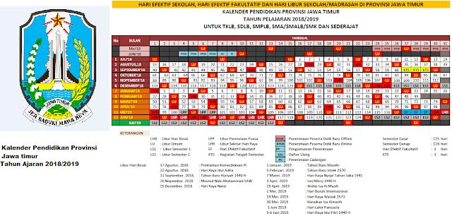 Kalender Pendidikan Jawa timur