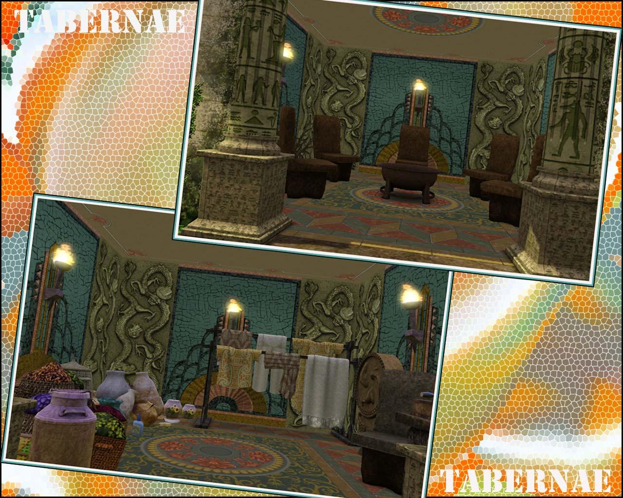 Aaron Spelling Mansion Floor Plan My Sims 3 Blog Ancient Roman Home No Cc By Yogi Tea