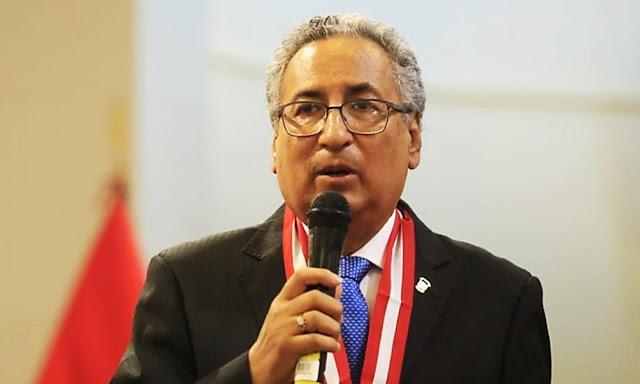 José Luis Lecaros Cornejo presidente del Poder Judicial