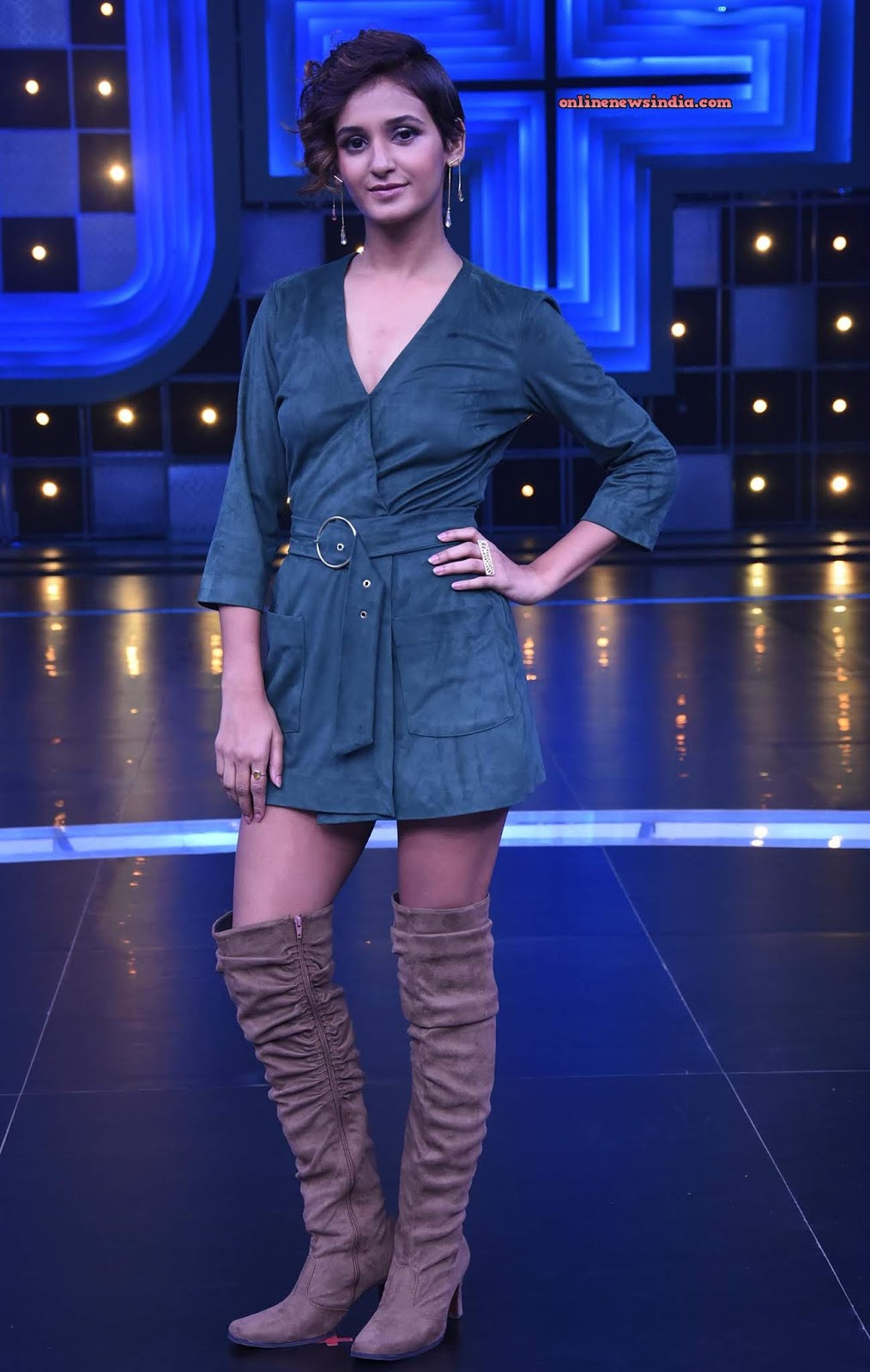 Shakti Mohan on the set of Dance Plus 4
