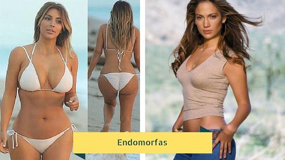 Mujeres con cuerpo endomorfo.